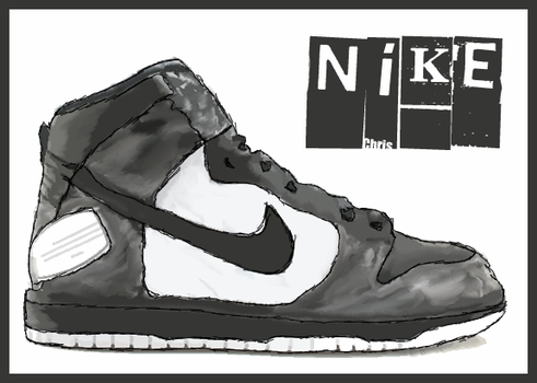 Nike trainer by served-chilled