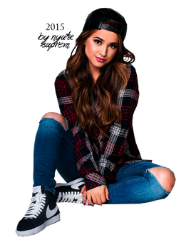 Becky G For Just Jared 2015 by NyutaSuprem